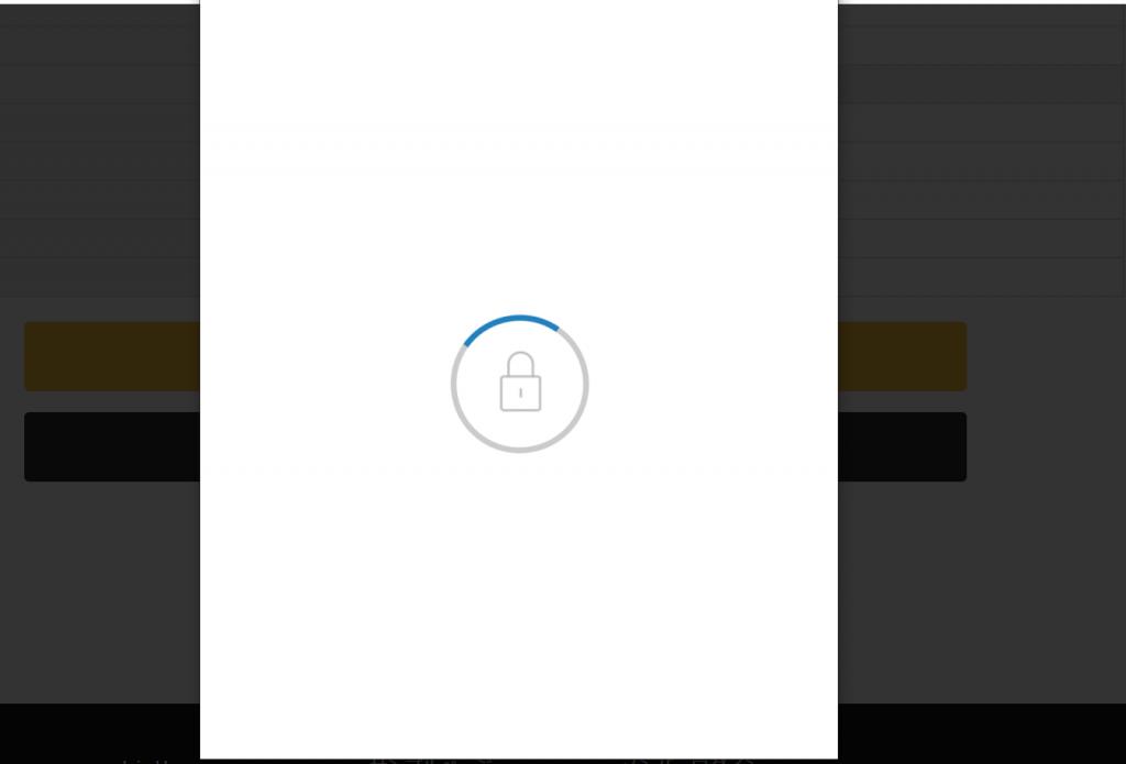paypalロード画面